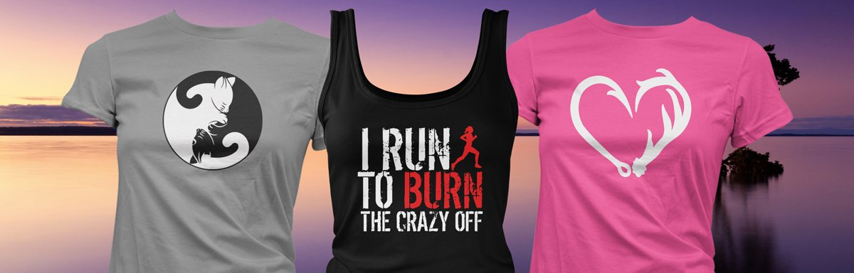 Womens T-Shirts and Tank Tops