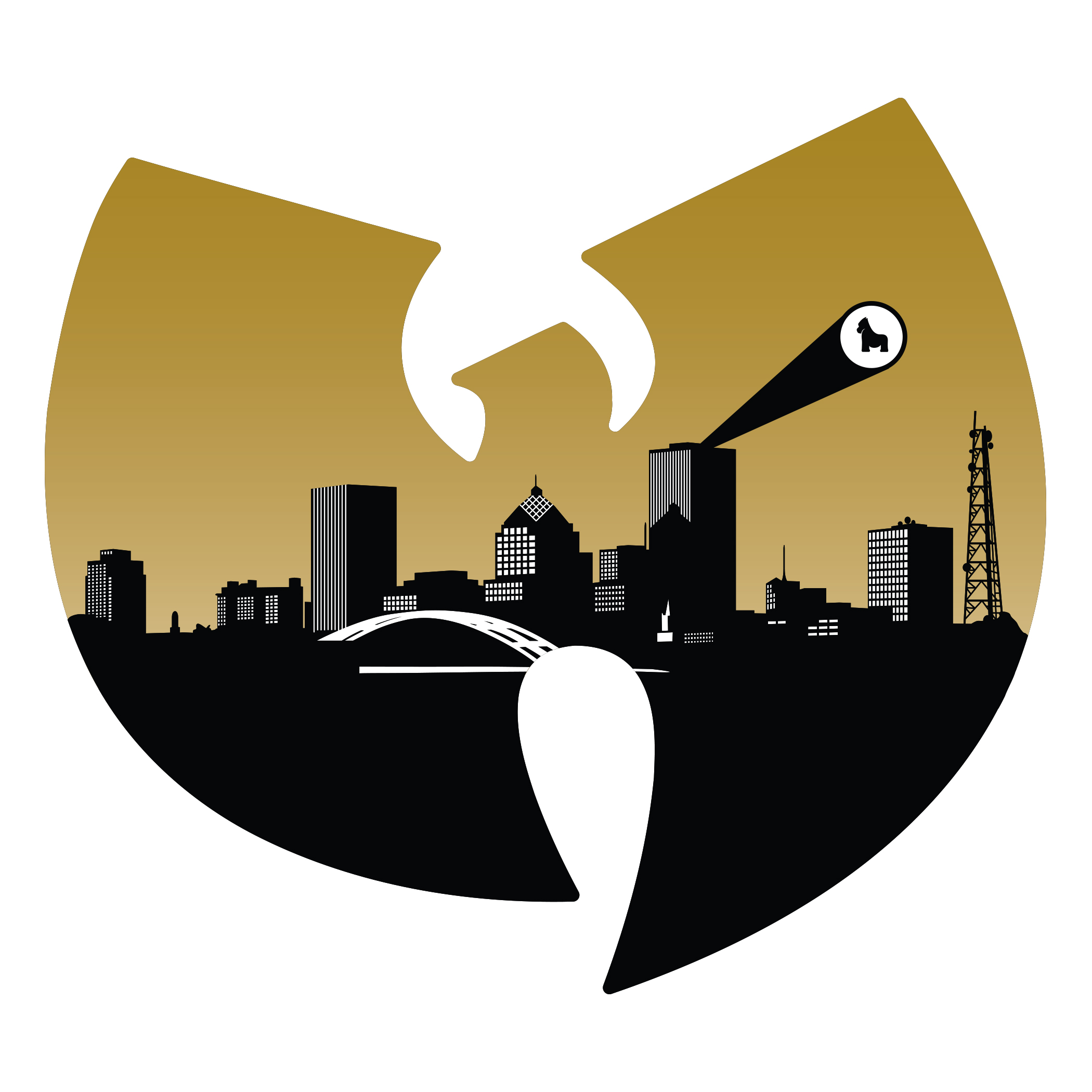 Wu-Tang Rochester Sticker