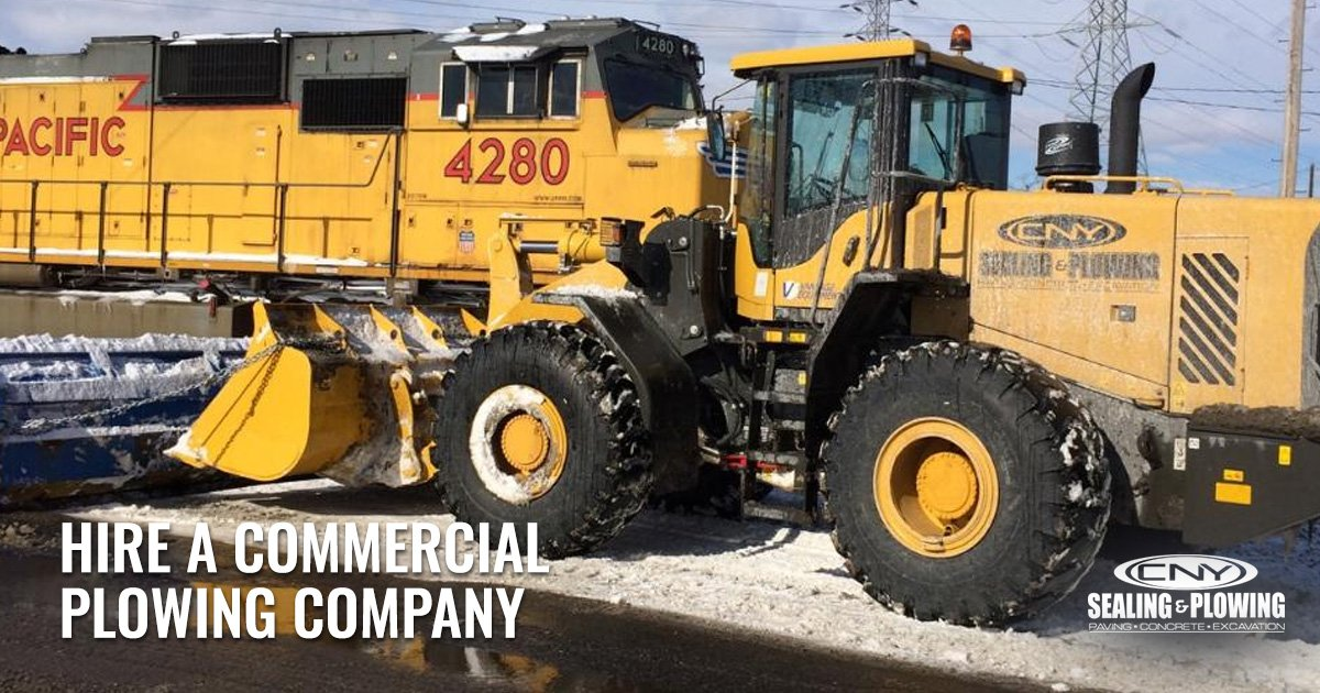 Commercial Snow Plowing Lots Syracuse NY