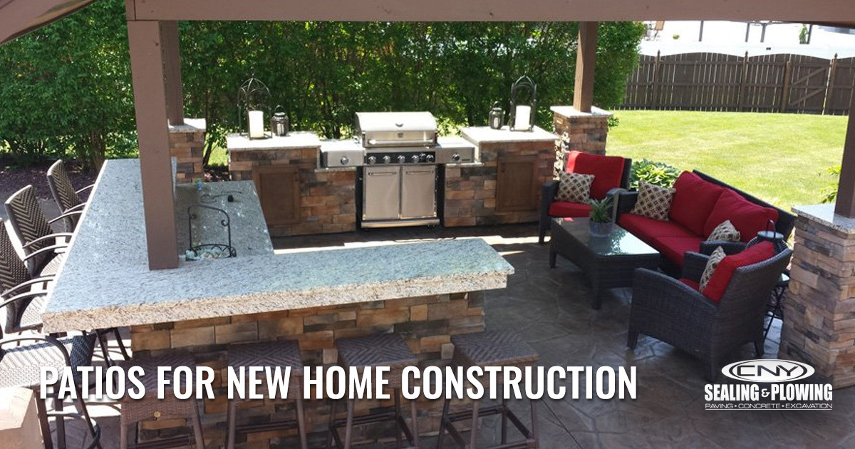 Patio Installations for New Construction Homes