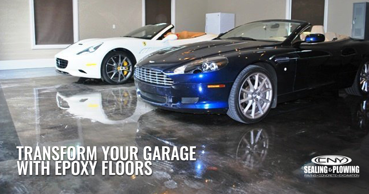 Transform Your Garage with Custom Epoxy Flooring