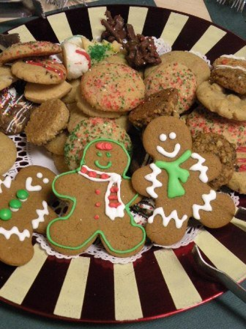 Gingerbread Cookie Tray