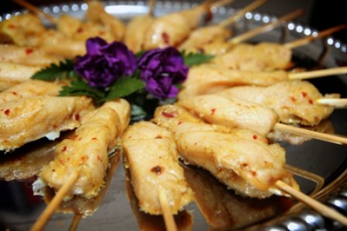 Chicken Satay Hors d'oeuvres