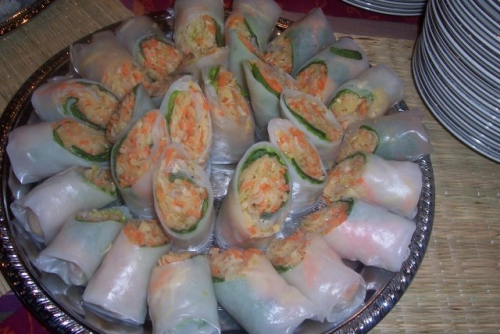 Catered Hors d'oeuvres