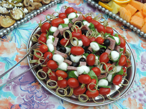 Hors d'oeuvres Catering Tray