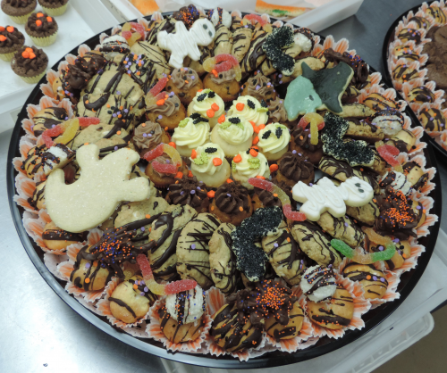 Halloween Theme Cookie Tray