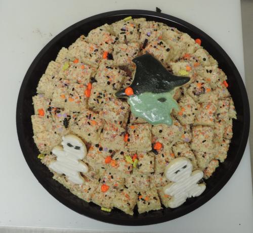 Halloween Cookie Tray