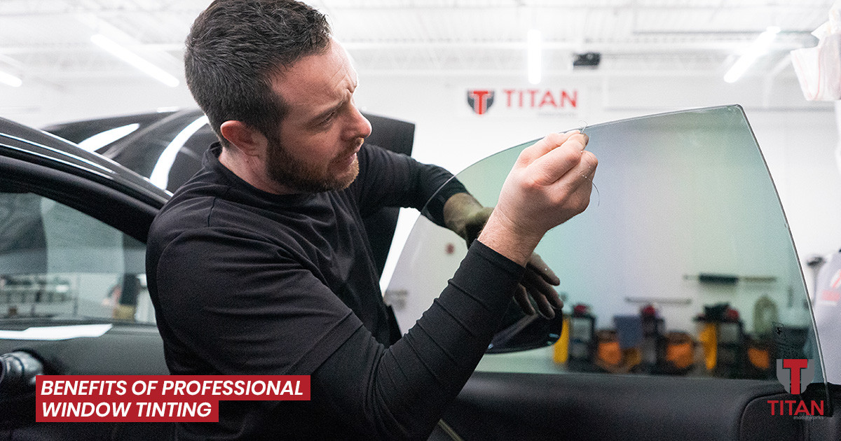 The Benefits of Professional Vehicle Window Tinting