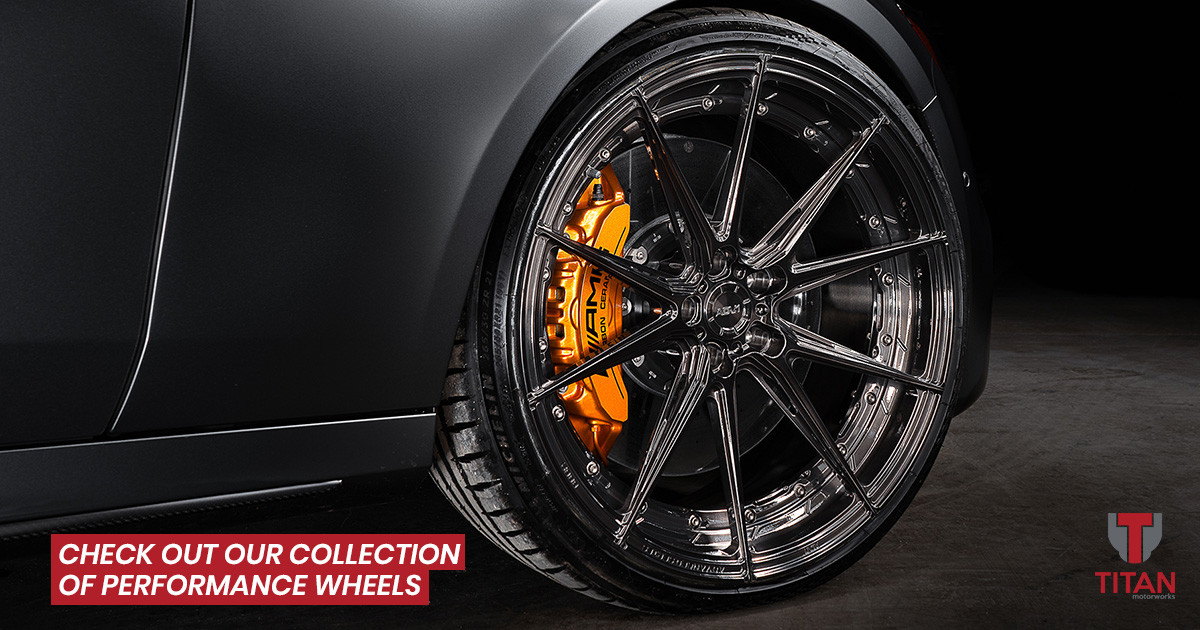 The Best Selection of Performance Wheels in Rochester NY