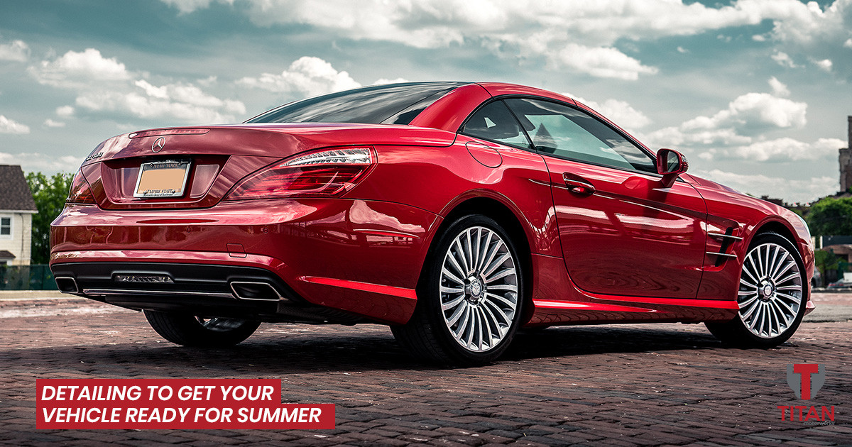 Detailing Packages to Get Your Vehicle Ready for Summer