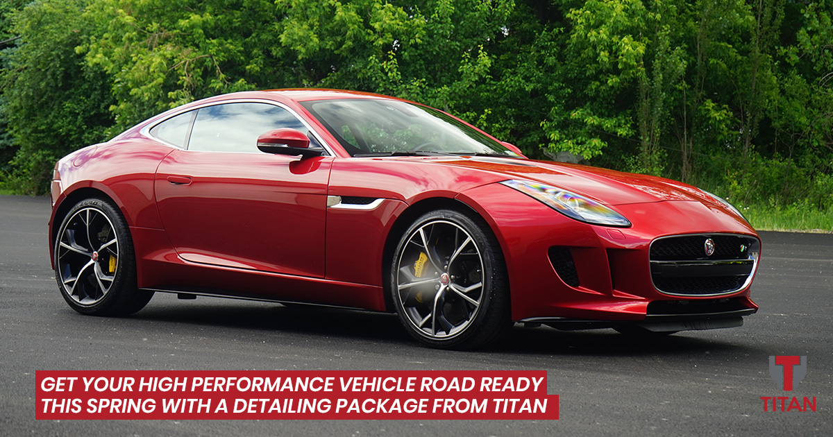 Spring Auto Detailing for High Performance Vehicles