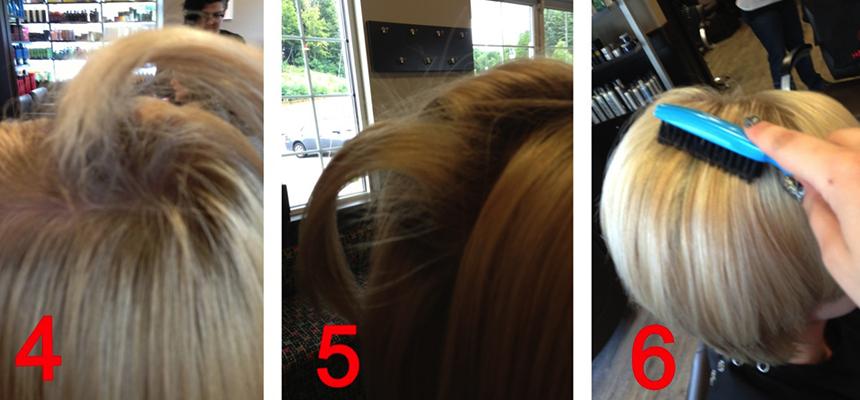 Fine Hair Teasing Trick
