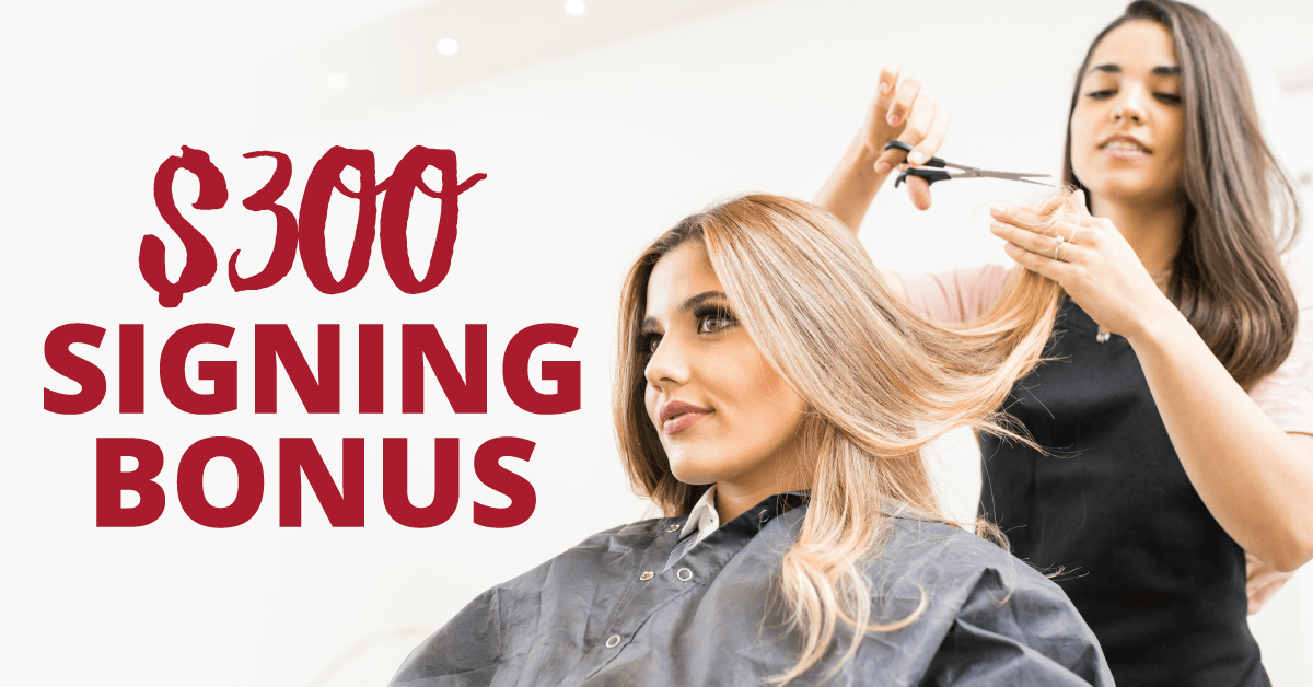 Hairzoo is Hiring With A $300 Signing Bonus For New Stylists!