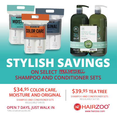 Savings on Paul Mitchell