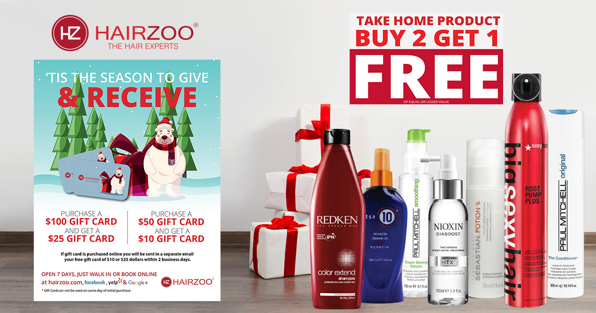 December Holiday Happenings at Hairzoo Salon