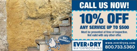 EverDry Waterproofing Coupon