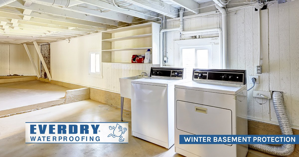 Waterproofing Your Basement for Winter Protection