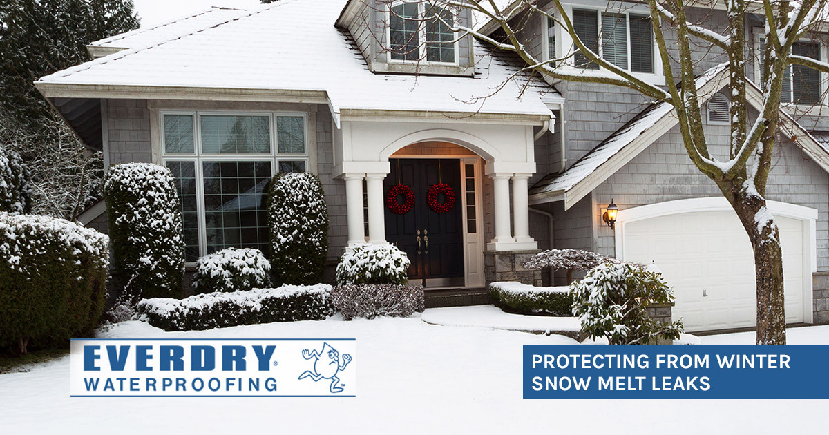 Protecting Against Damage from Winter Snow Melt