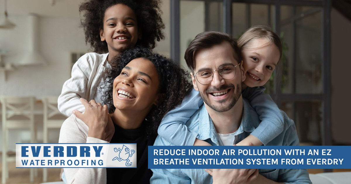 Reduce Indoor Air Pollution with EZ Breathe Ventilation System from Everdry