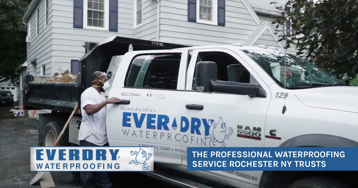 The Professional Waterproofing Service Rochester NY Trusts