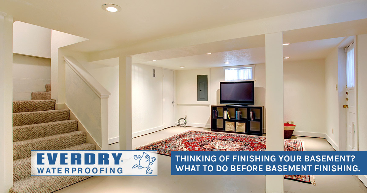 Essential Steps Before Basement Refinishing