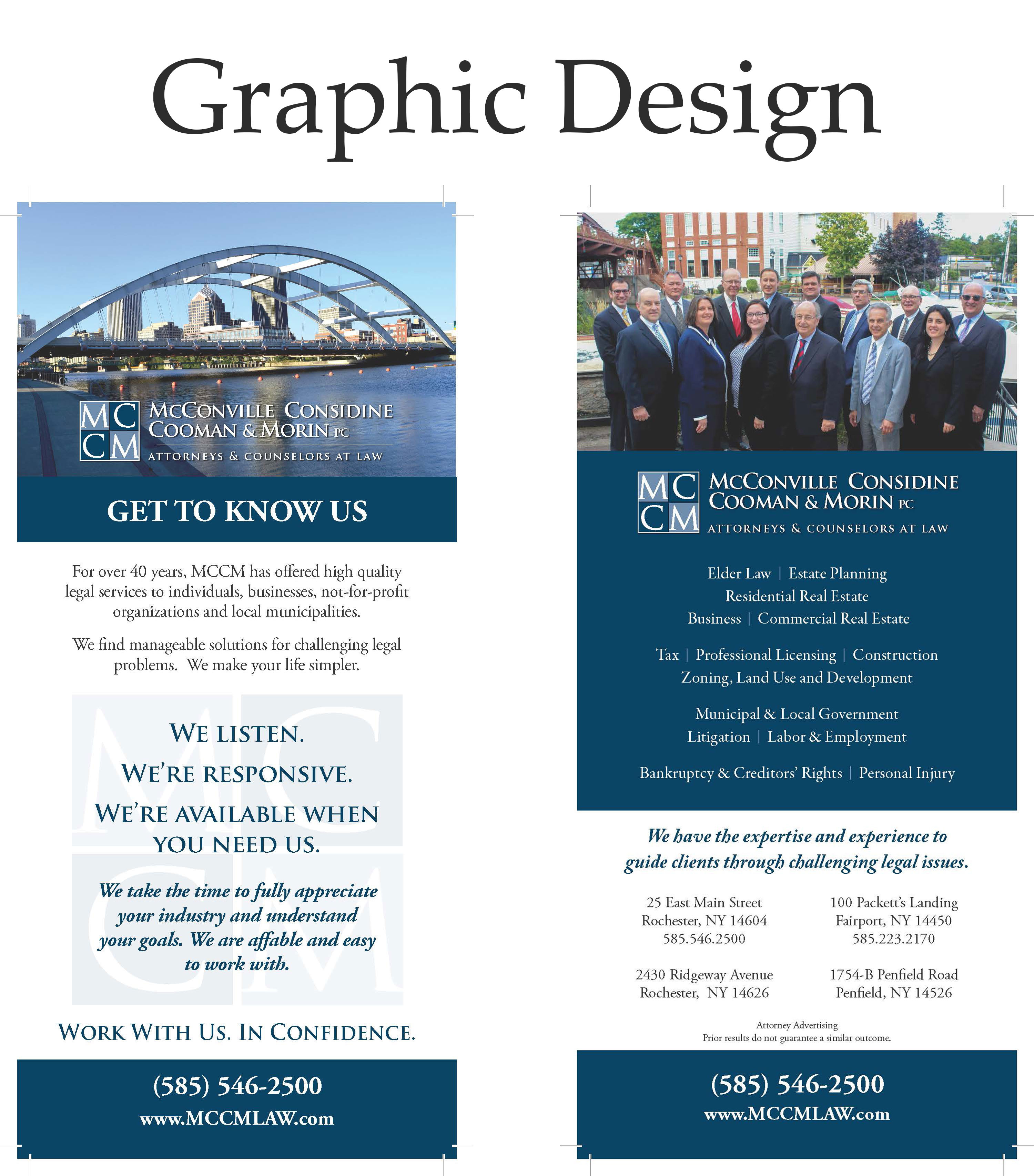 Graphic Design Example - Edge Advertising Group