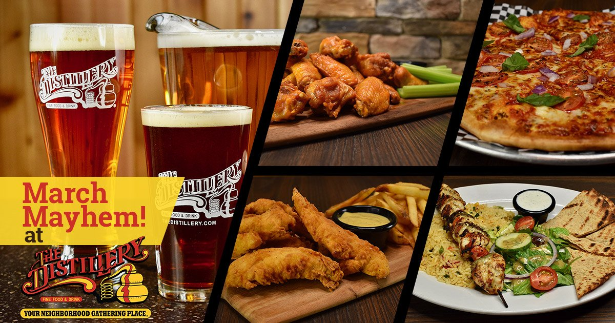 Watch All Your March Madness Games at The Distillery