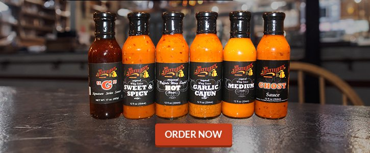 Choose Any 6 Sauces (Save $5)!