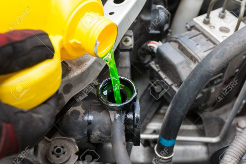 Have your coolant level topped off while you are in for an inspection