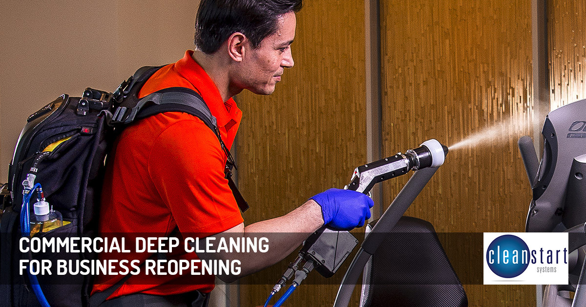 Commercial Deep Cleaning for Business Reopening