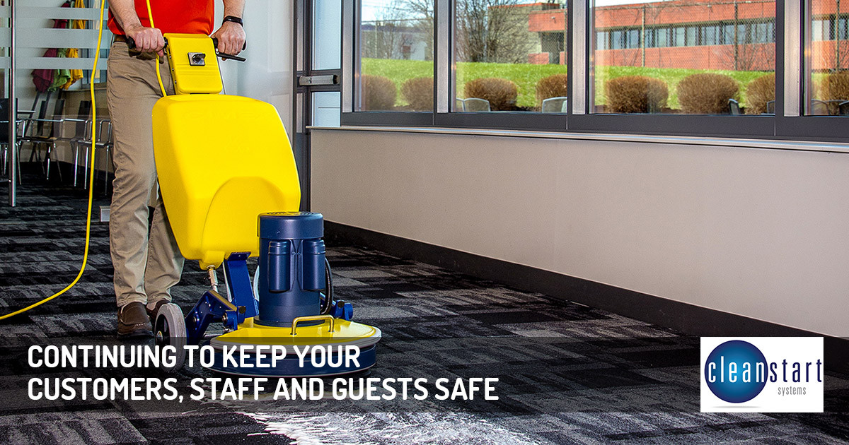 Continuing to Keep Your Customers, Staff and Guests Safe