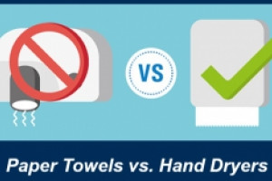 Clean Start Story-Share: Paper Towels vs. Hand Dryers