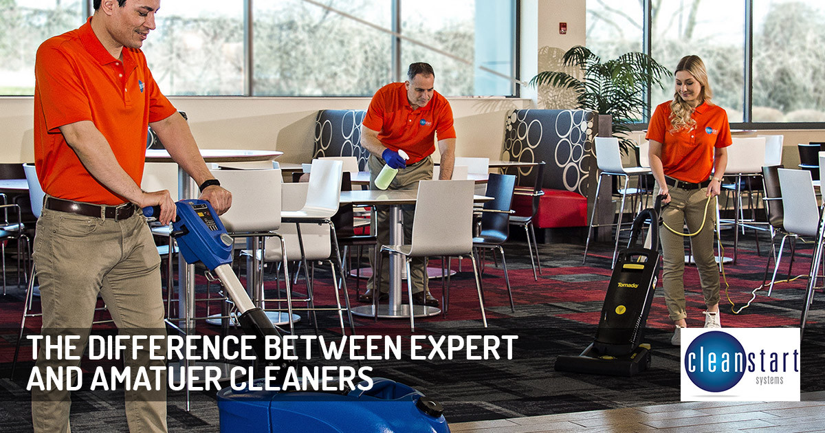 The Difference Between Professional Cleaners and Amateurs
