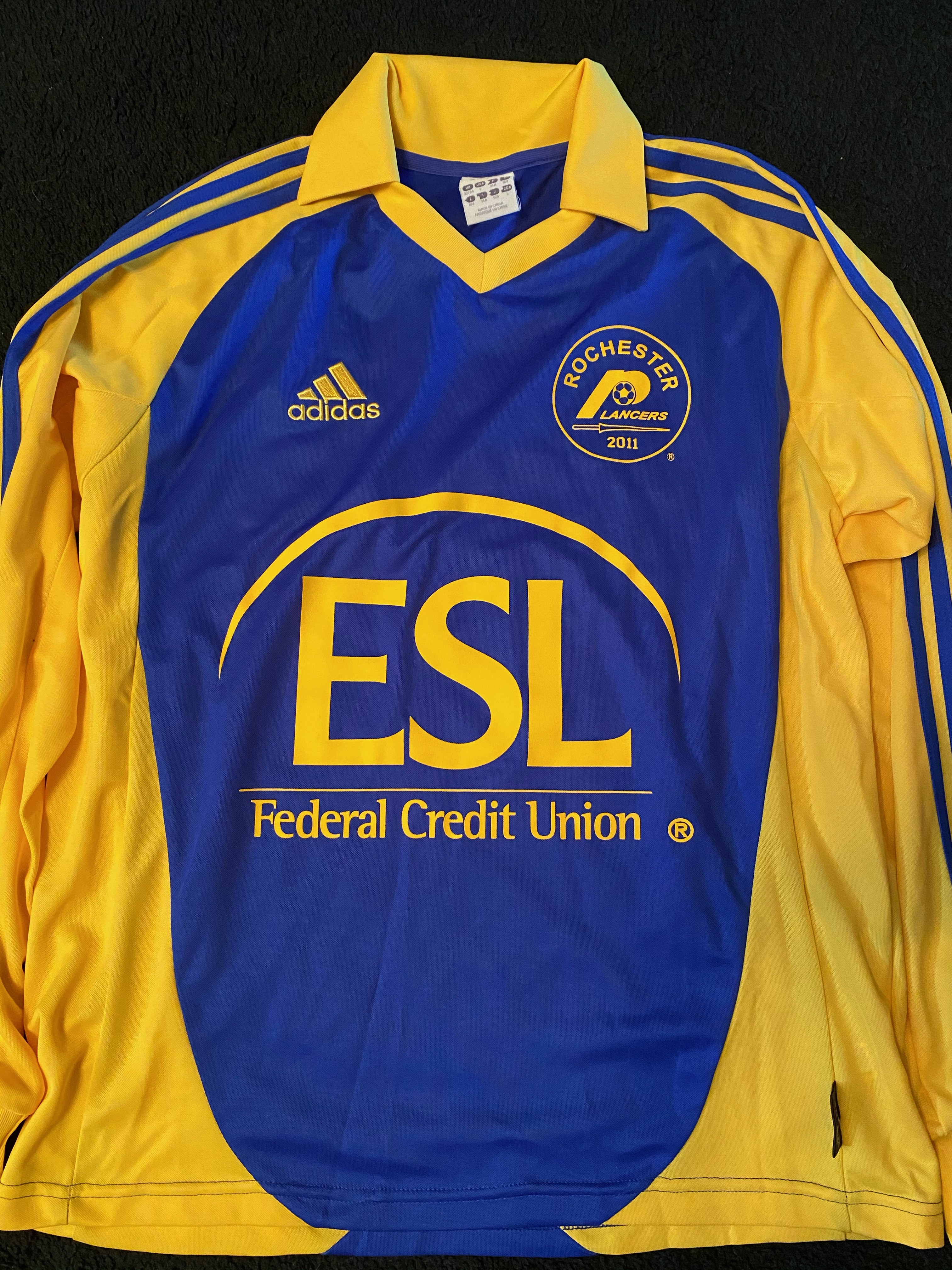 2011 Blue Adult Adidas Jersey