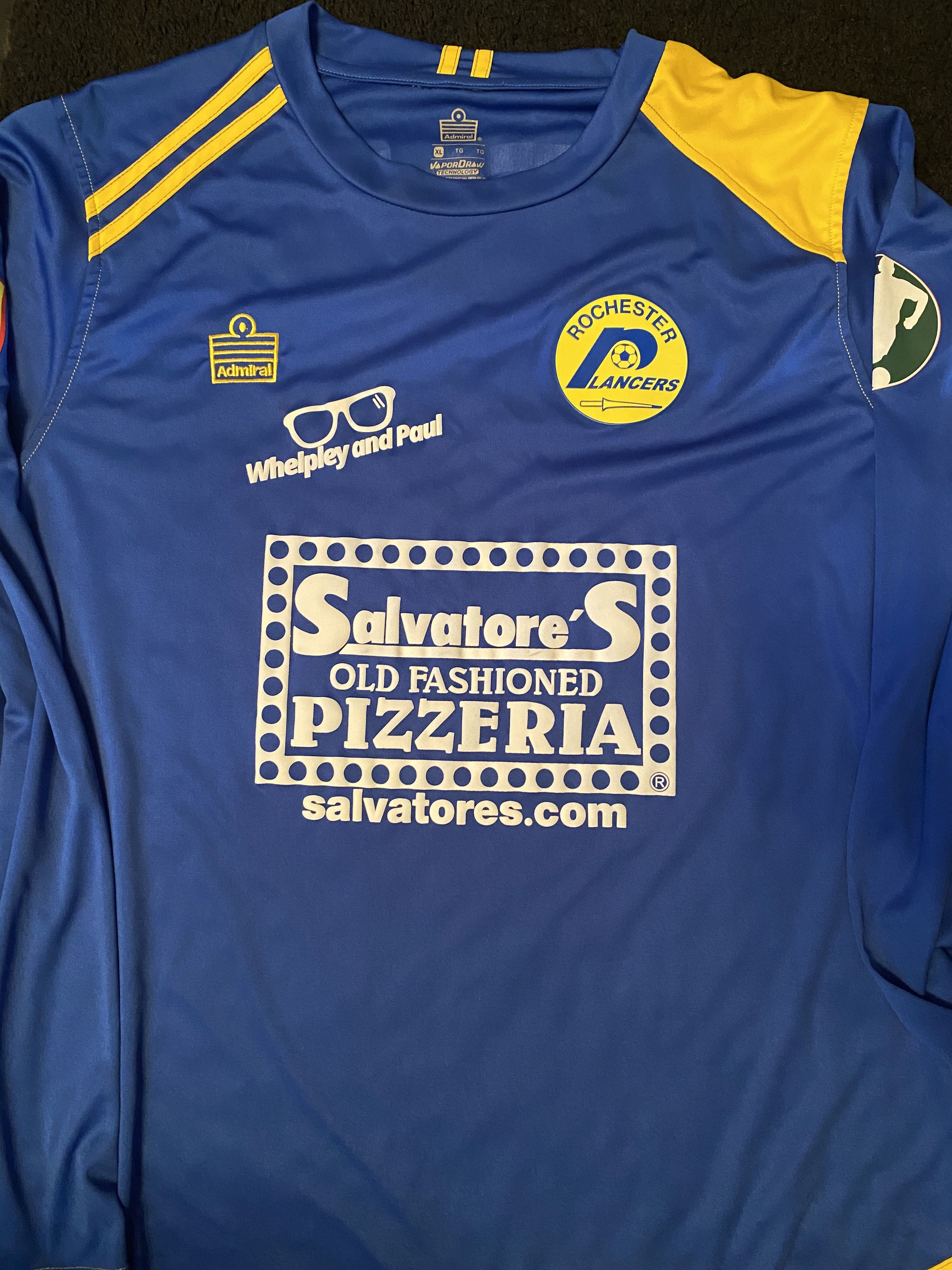 2019 Indoor Blue LS Jersey