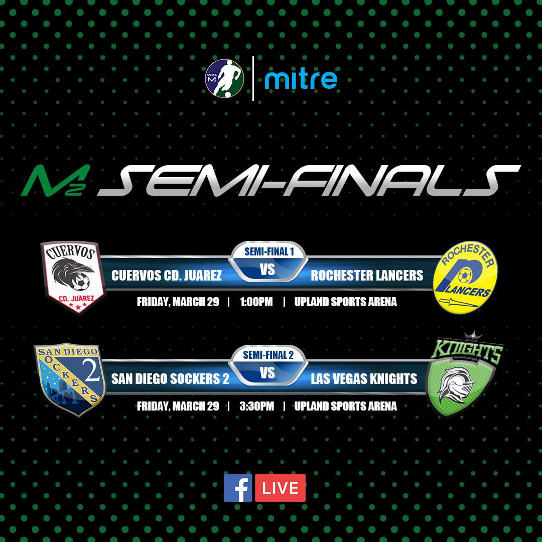 2019 MASL2 Semi-Finals!  Live video stream