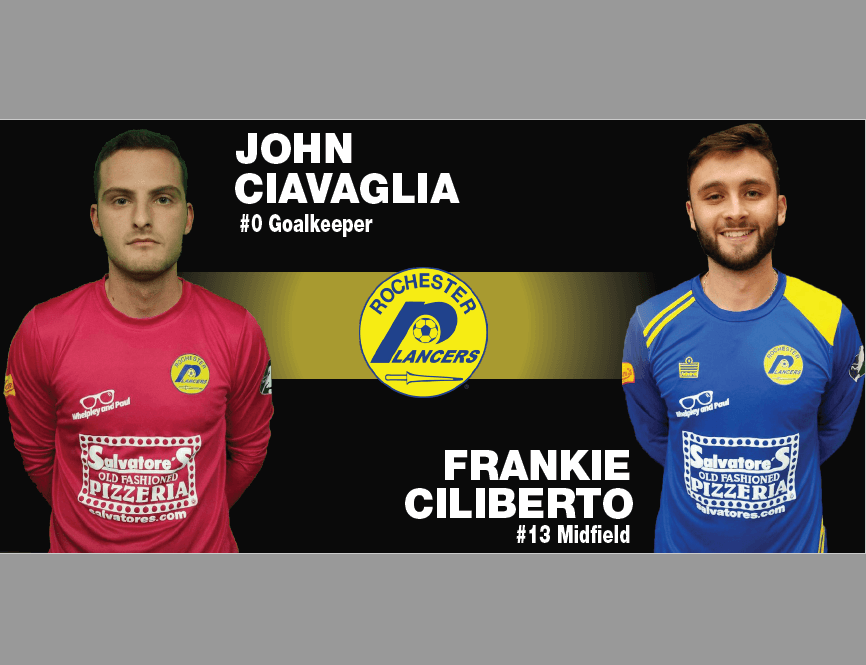 Ciliberto and Ciavaglia Added To Lancers Indoor Roster