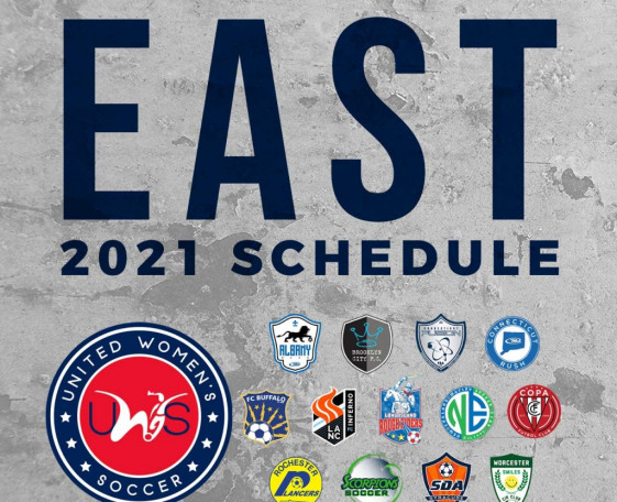2021 UWS East Conference Schedule