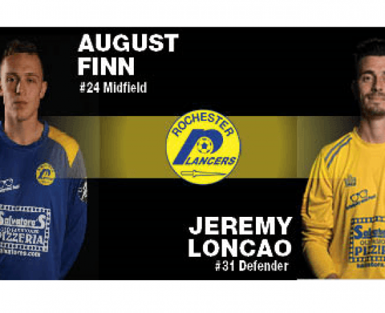Finn and Loncao Added to Lancers Roster