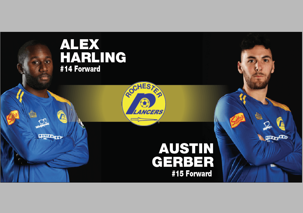 Lancers Announce Harling and Gerber for the 2019-2020 Season
