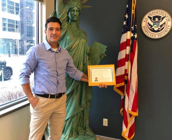 Lancers GK, Marcelo, obtains American Citizenship