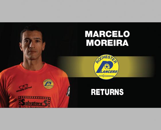 Lancers Veteran GK, Marcelo Moreira Returns