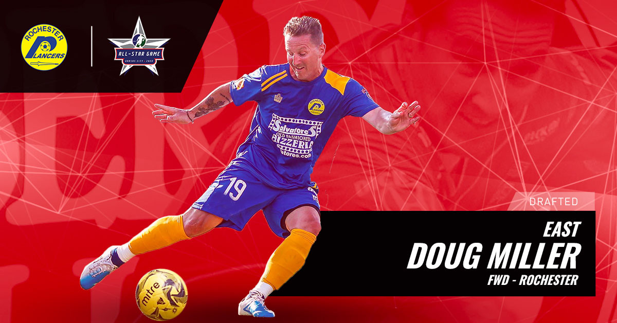 Doug Miller Joins MASL's All-Star Roster!