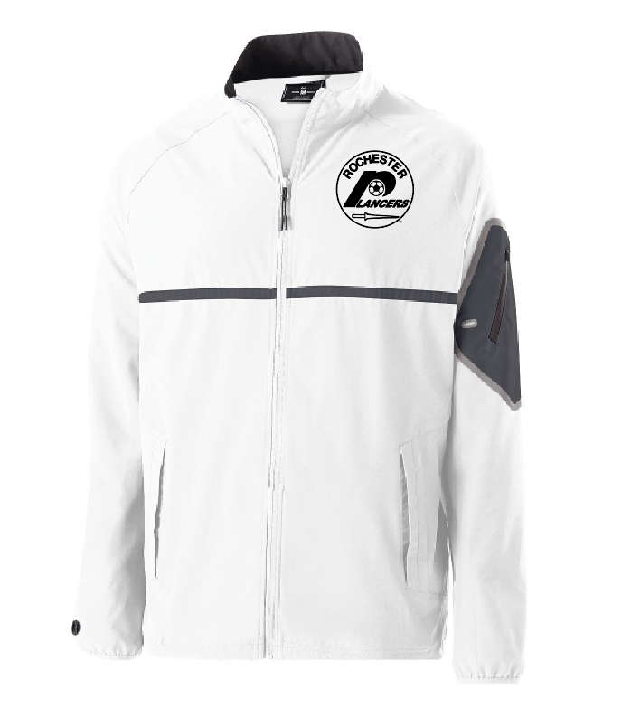 Men's Weld Full Zip Jacket White