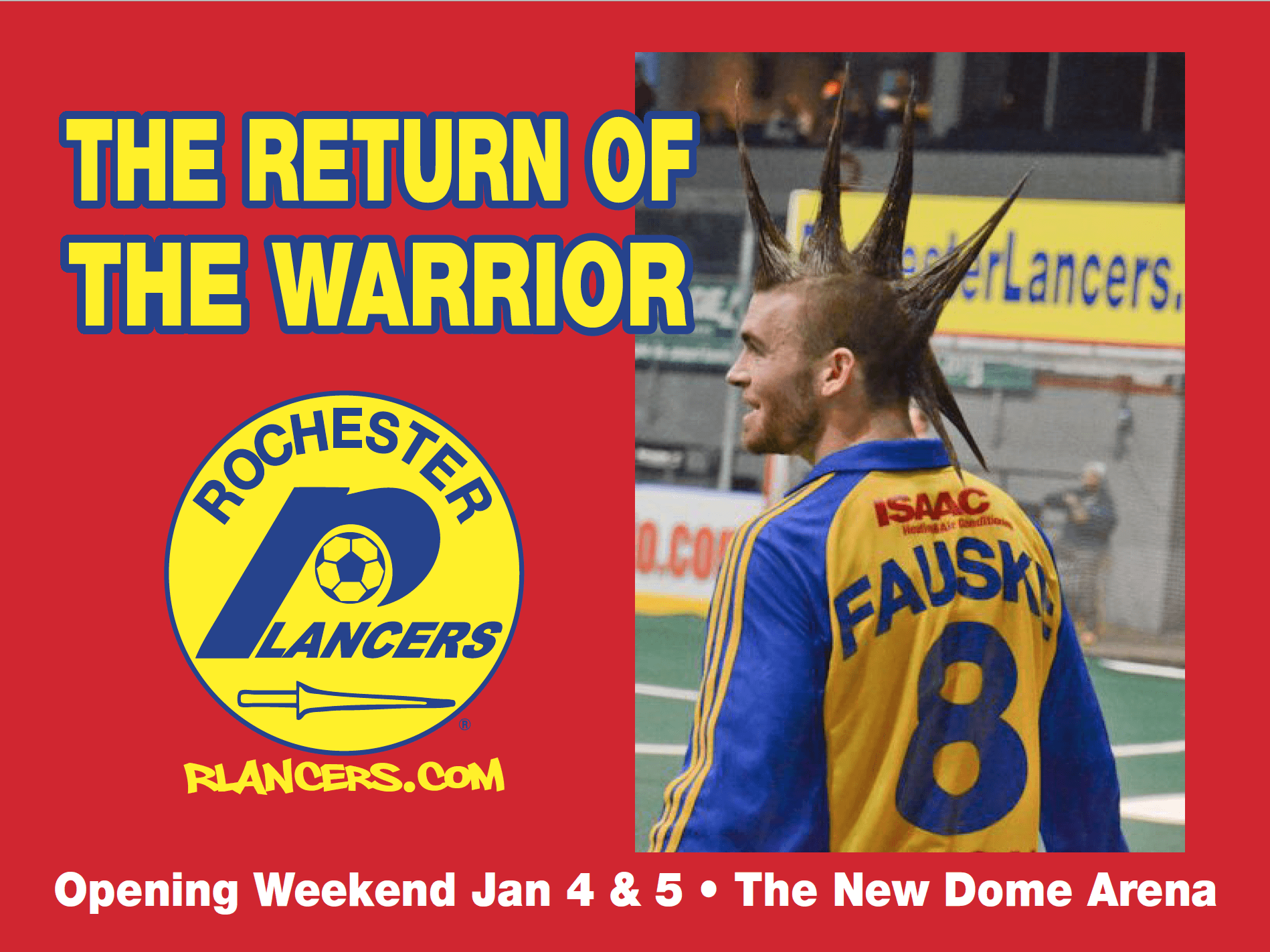 The Warrior Returns Opening Weekend!