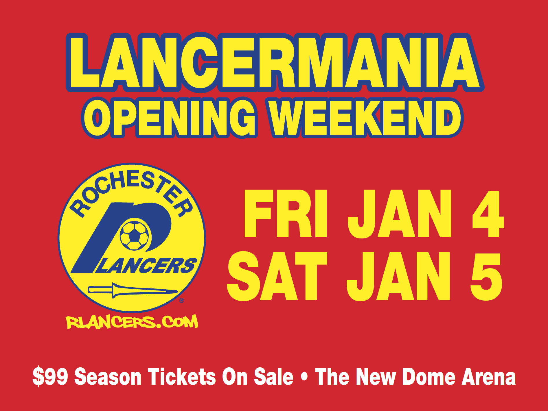 LancerMania Opening Weekend January 4 & 5