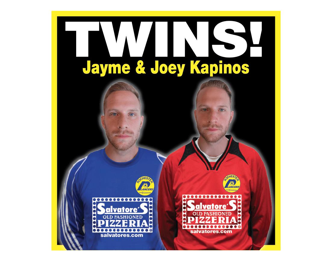 KAPINOS TWINS JOIN LANCERS!