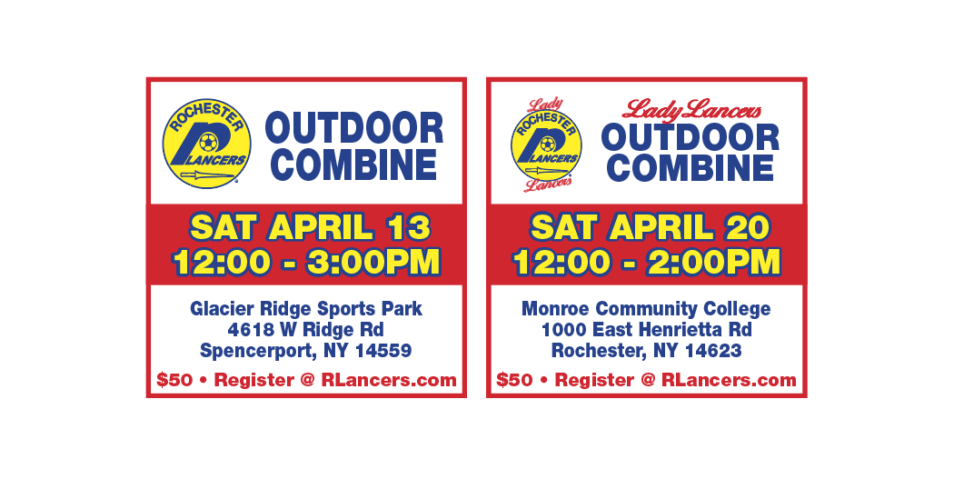 Lady Lancers and Lancers Outdoor Combines Announced!