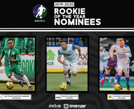 Rozzano Nominated for Rookie of the Year