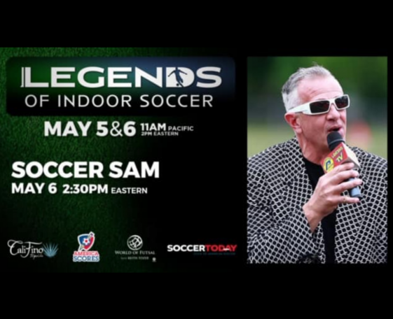 SoccerSam Speaks on Zoomathon!